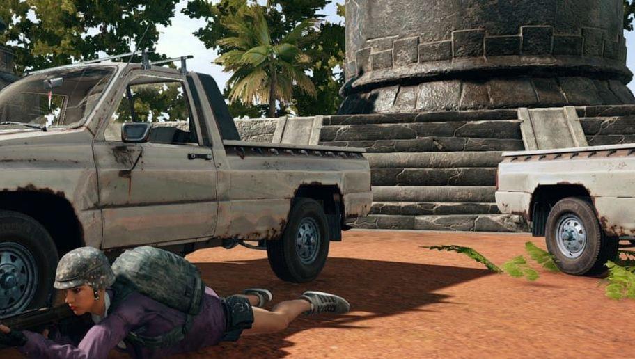 PUBG Player Defeated by Gravity and a Vengeful Vehicle
