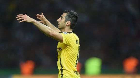 Mkhitaryan posted farewell message to Dortmund fans