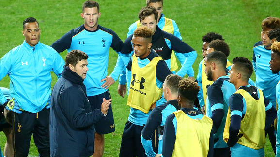 Tottenham Hotspur Press Conference & Training Session
