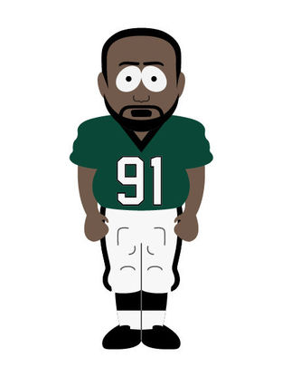 Fletcher Cox Pictures >> NFL Superstars as South Park Characters For All 32 Teams | 12up