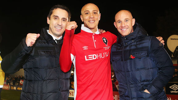 Salford City v Notts County - The Emirates FA Cup First Round