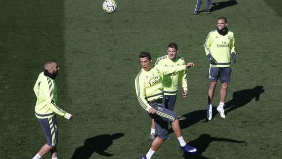 FBL-ESP-LIGA-REALMADRID-TRAINING