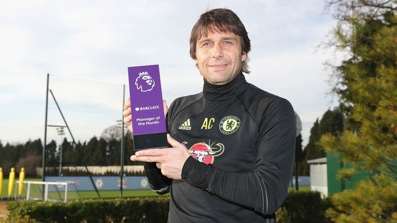 Chelsea Receive Monthly Premier League Awards