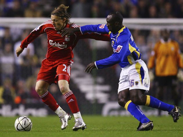 Liverpool v Cardiff City - Carling Cup