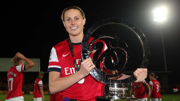 Arsenal Ladies FC v Birmingham City Ladies FC - The FA WSL Continental Cup Final