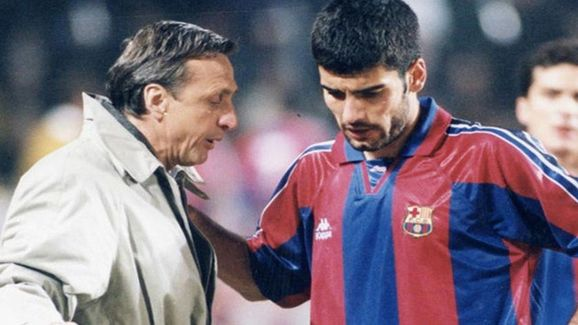 Cruijff and Guardiola