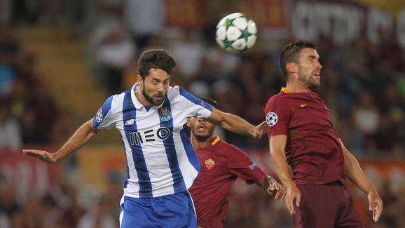 AS Roma v FC Porto - UEFA Champions League Qualifying Play-Offs Round: Second Leg