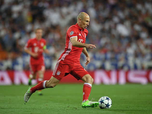 Image result for arjen robben dribble