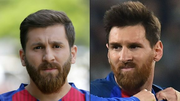 COMBO-IRAN-FOOTBALL-MESSI