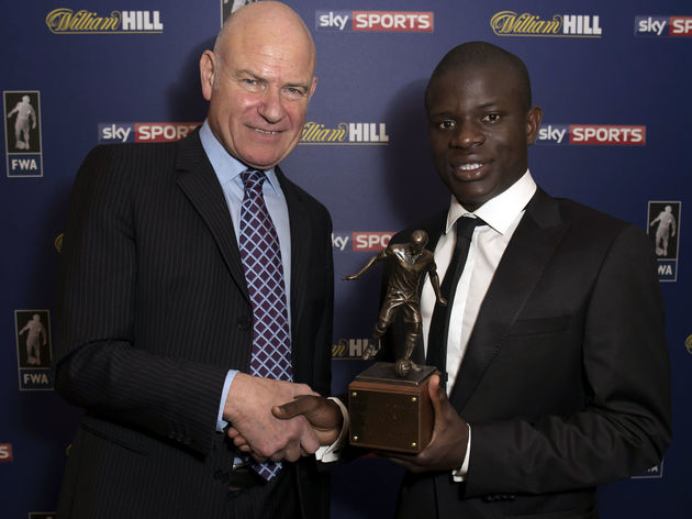 Football Writers Association Player of the Year.