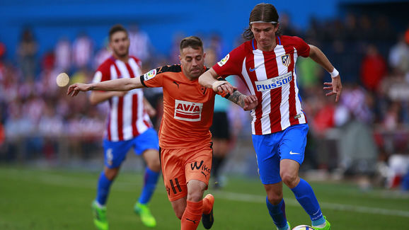 Filipe Luis with another strong season for Atletico