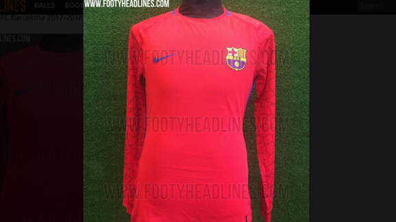 894149a88 LEAKED  Images of Barcelona s Slick New Home Goalkeeper Jersey for ...