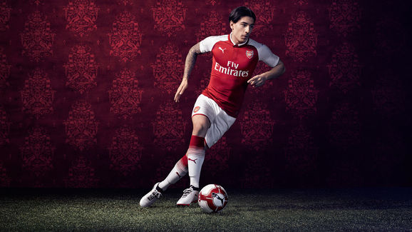 00d8dd111 PHOTO  Arsenal Officially Launch Their New Home Kit Ahead of the ...