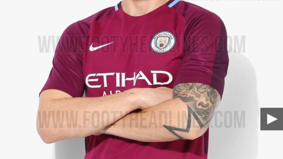 sale retailer 78181 aaa38 LEAKED: New Manchester City Away & Third Kits Appear Online ...