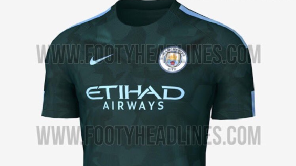 sale retailer f73f5 2a204 LEAKED: New Manchester City Away & Third Kits Appear Online ...