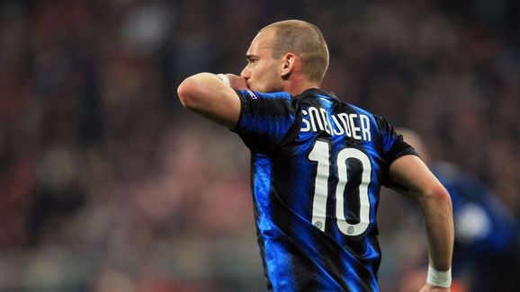 Former Inter Star Wesley Sneijder in Talks With City Rivals AC as Dutchman  Prepares to Leave Turkey | 90min