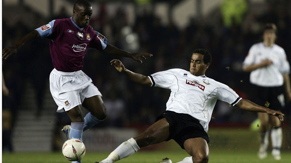 Derby County v West Ham United