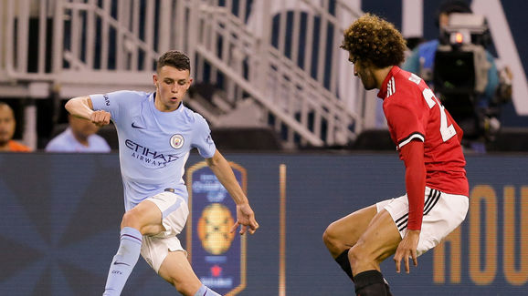 Image result for phil foden vs man united usa
