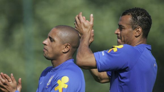 Training and Press Conference of the Brazilian National Team for FIFA World Cup 2006