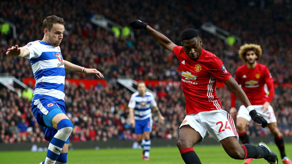 Manchester United v Reading - The Emirates FA Cup Third Round