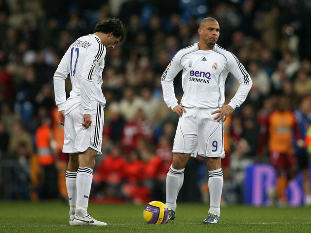 Real Madrid's Brazilian forward Ronaldo