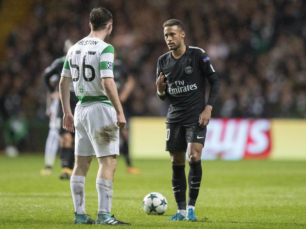 Celtic v Paris Saint Germain - UEFA Champions League ,