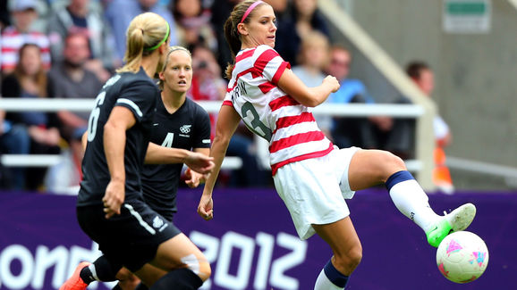 Olympics Day 7 - Women's Football Q/F - Match 20 - USA v New Zealand