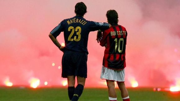 The Milan derby can always guarantee a passionate atmosphere