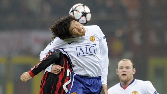 Manchester United's South Korean player