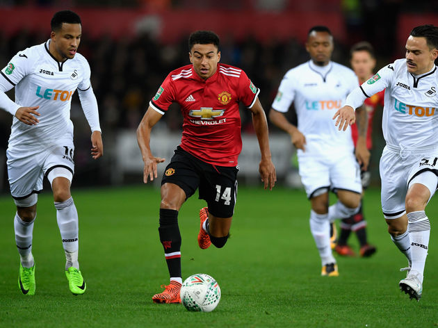 Swansea City v Manchester United - Carabao Cup Fourth Round