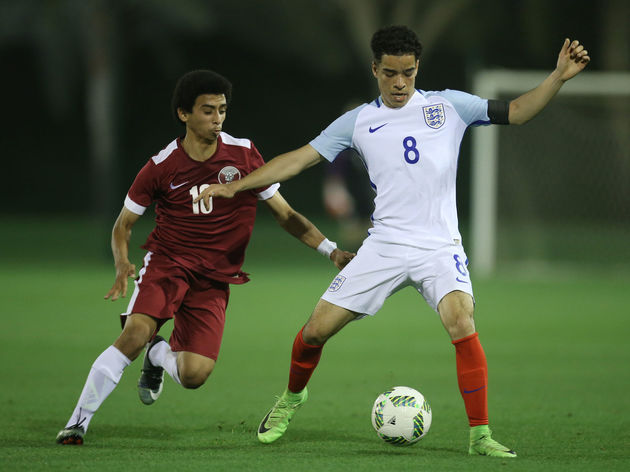 Qatar v England: U18 International Friendly
