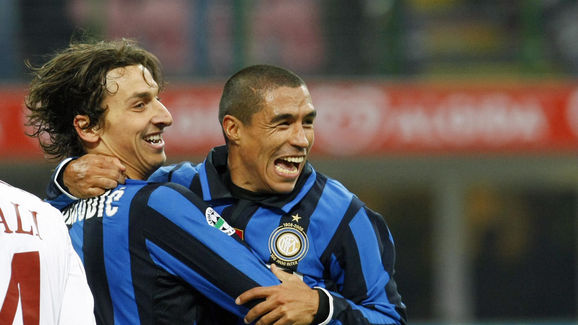 Inter Milan's Colombian defender and cap