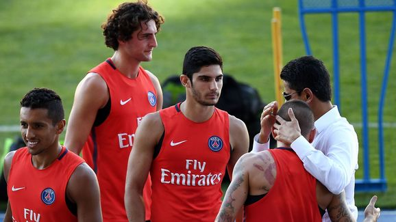 FBL-FRA-CHAMPIONS-TROPHY-PSG-TRAINING