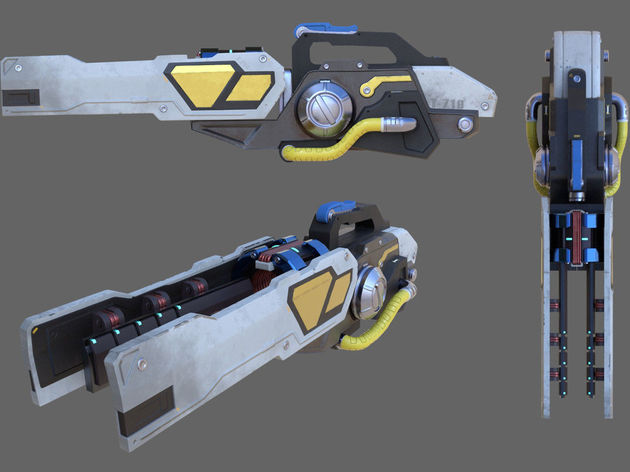 Winston Player Designs 3D Model of Tesla Cannon | dbltap