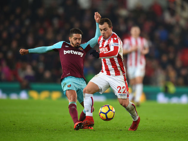 Stoke City v West Ham United - Premier League