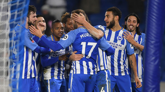 Brighton & Hove Albion v Crystal Palace - The Emirates FA Cup Third Round