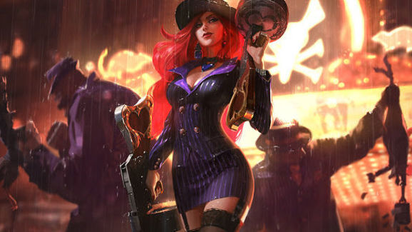 Check Out New Splash Art For Miss Fortune Skins Dbltap