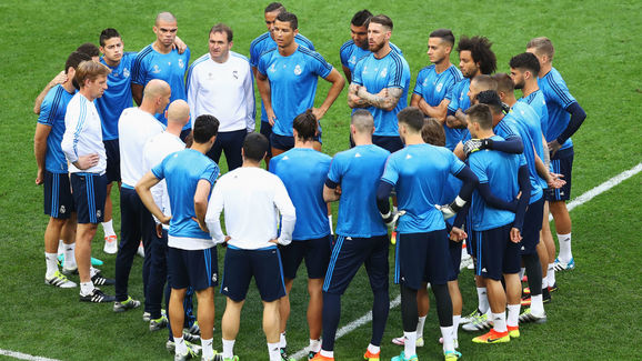 Real Madrid Training Session - UEFA Champions League Final