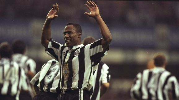 Les Ferdinand of Newcastle United