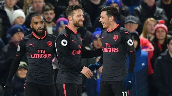 ed0a8afa9e4 PHOTOS: Leaked 2018/19 Arsenal Third Kit Reveals Shocking Colour ...