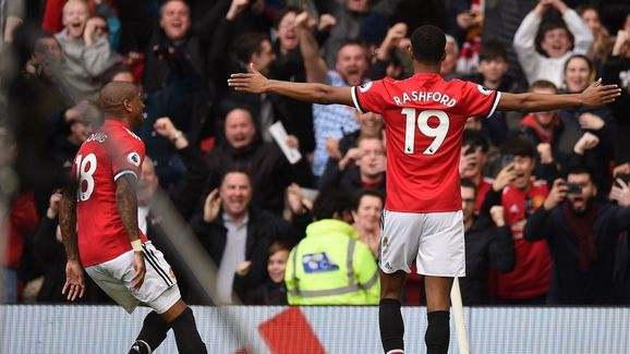 Image result for Manchester United 2-1 Liverpool: Rashford