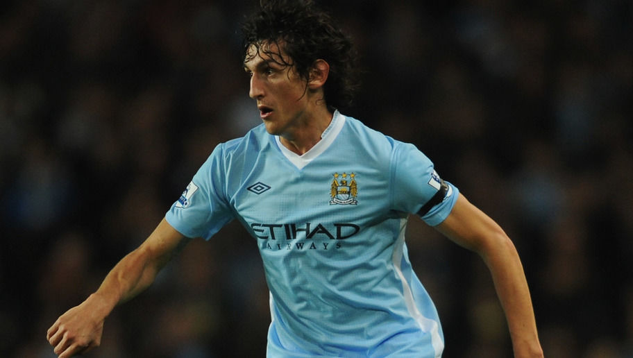 LONDON, ENGLAND - NOVEMBER 29:  Stefan Savic of Manchester City in action during the Carling Cup Quarter Final match between Arsenal and Manchester City at Emirates Stadium on November 29, 2011 in London, England.  (Photo by Michael Regan/Getty Images)