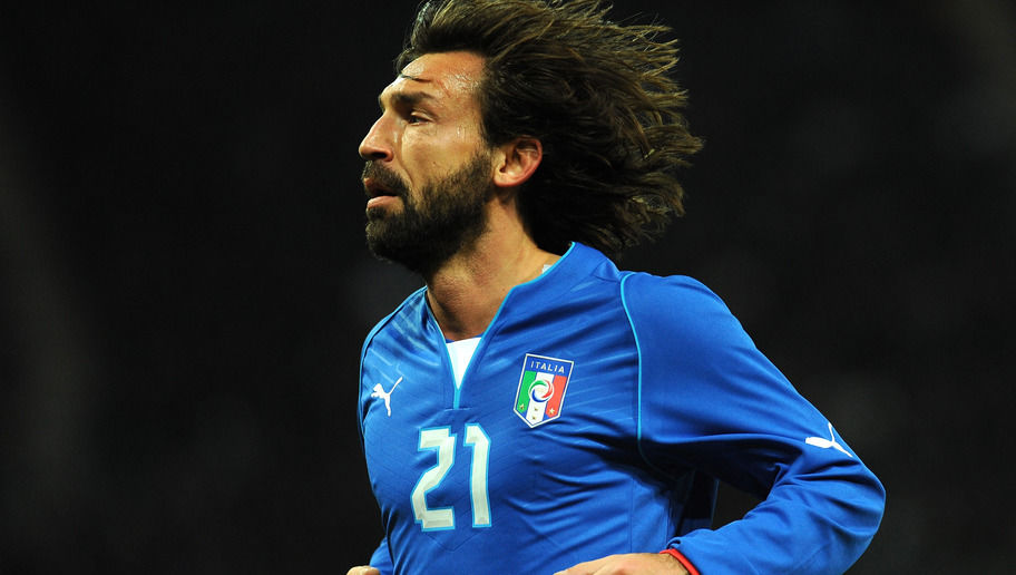 GENEVA, SWITZERLAND - MARCH 21:  Andrea Pirlo of Italy looks on during the international friendly match between Italy and Brazil on March 21, 2013 in Geneva, Switzerland.  (Photo by Valerio Pennicino/Getty Images)