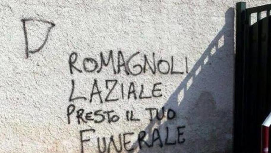 Romagnoli Scritte Shock Sui Muri Di Casa Presto Il Tuo
