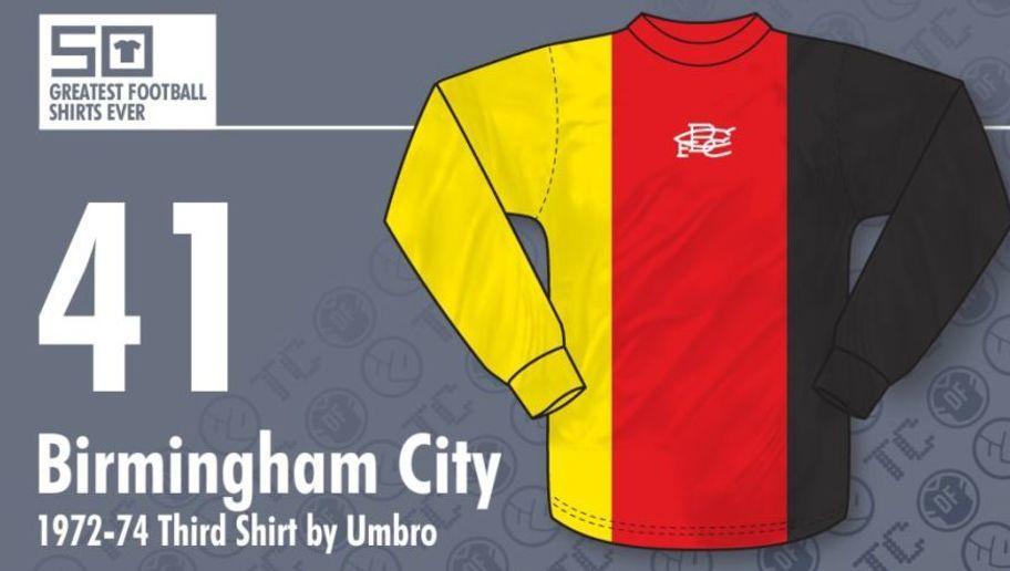 3715f01037b88  Una camiseta realmente histórica y muy antigua. El Birmingham City