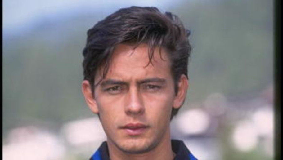 Jul 1996:  A portrait of Filippo Inzaghi of Atalanta football club. Mandatory Credit: Allsport UK