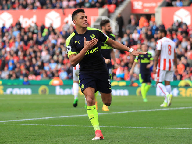 Stoke City v Arsenal - Premier League
