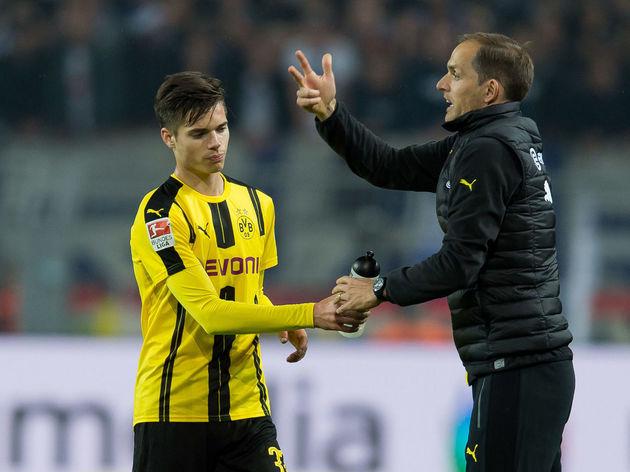 1.BL: BV Borussia Dortmund - Hertha BSC Berlin