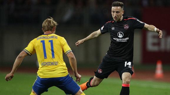 1. FC Nuernberg v Eintracht Braunschweig - Second Bundesliga