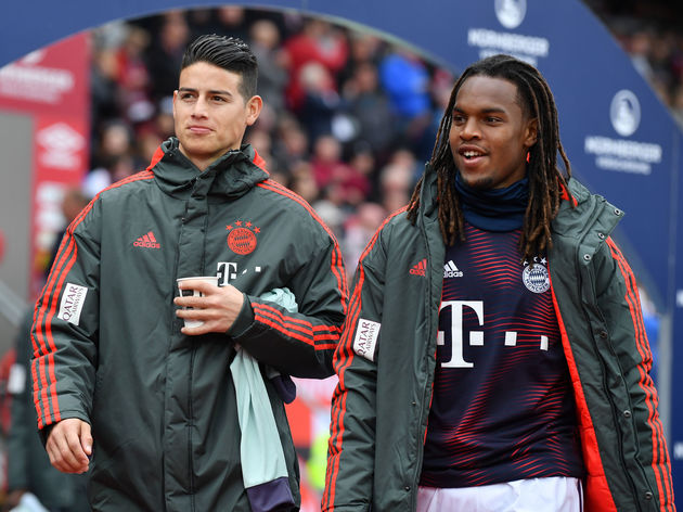 James Rodriguez,Renato Sanches